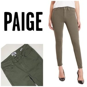 PAIGE Hoxton Ankle Skinny Jeans 👖
